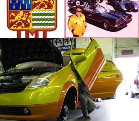 Green Gears works with George Barris on Custom Prius