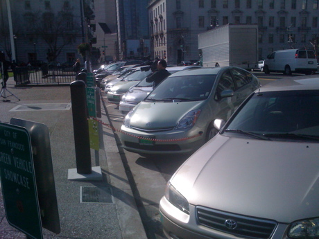 Green Gears partners with Coulomb Tech, City Car Share and San Francisco to bring infrastructure to city hall