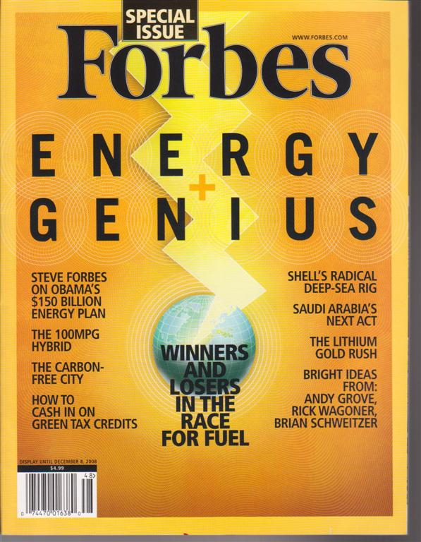 Green Gears Featured in Forbes Magazine