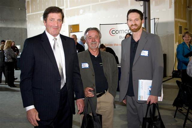 Congressman John Garamendi and Green Gears at Innovation Hub