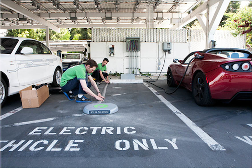 Green Gears Installs Gen II Inductive Charger at Google