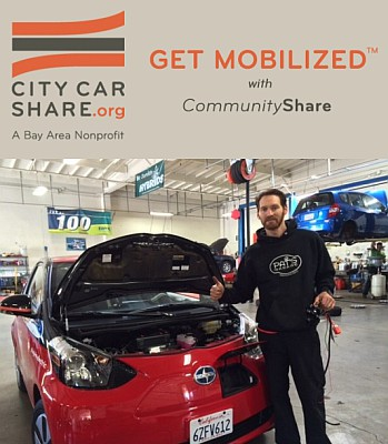 City Carshare EV program